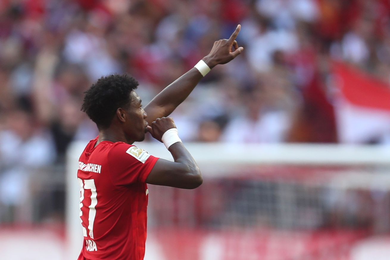 WATCH: David Alaba free kick voted Bayern Munich?s goal of the month for August