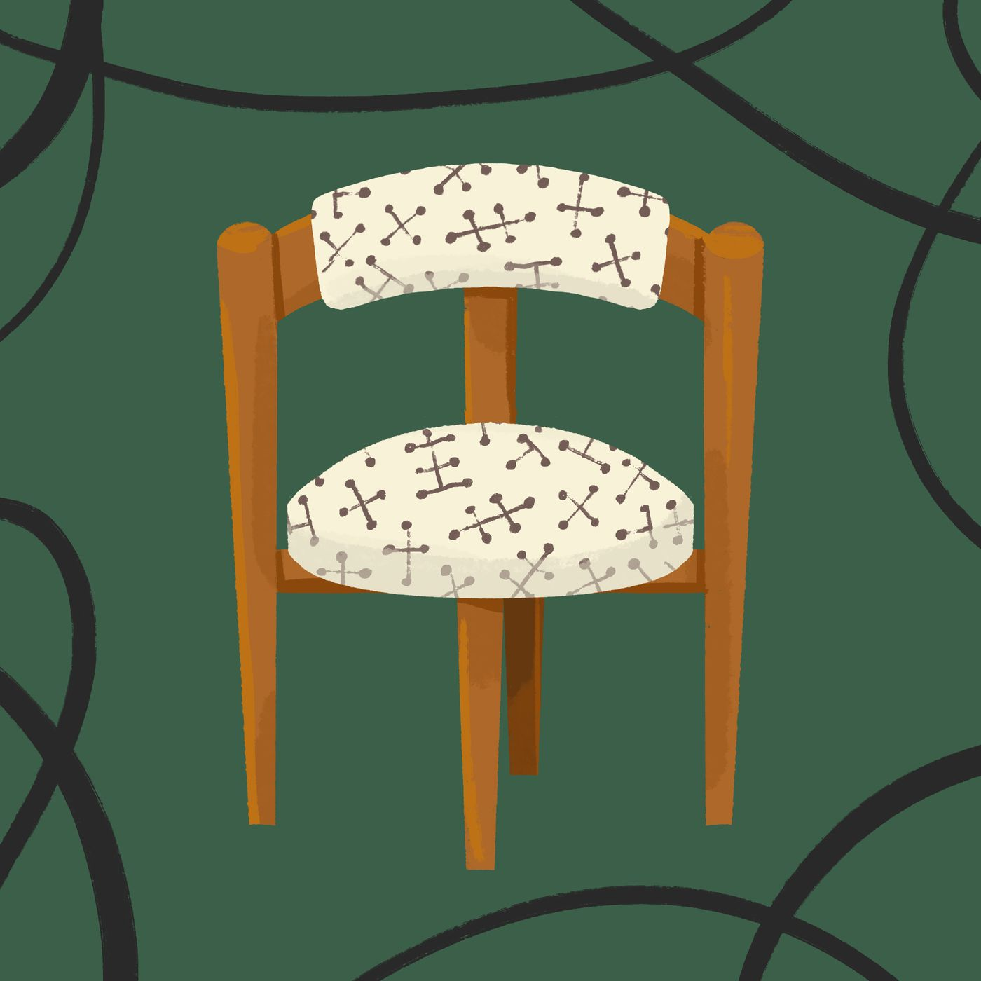 My midcentury design obsession started with this vintage dining ...