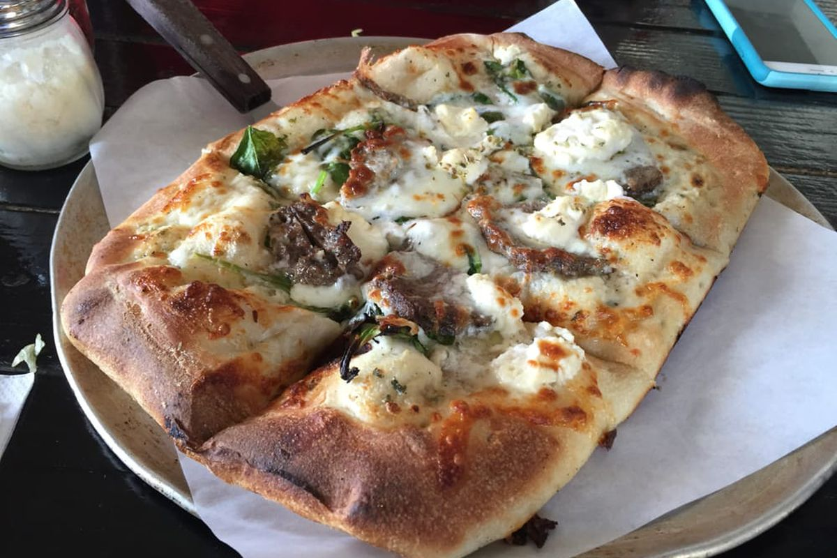 Guinea Pie at Naked City Pizza