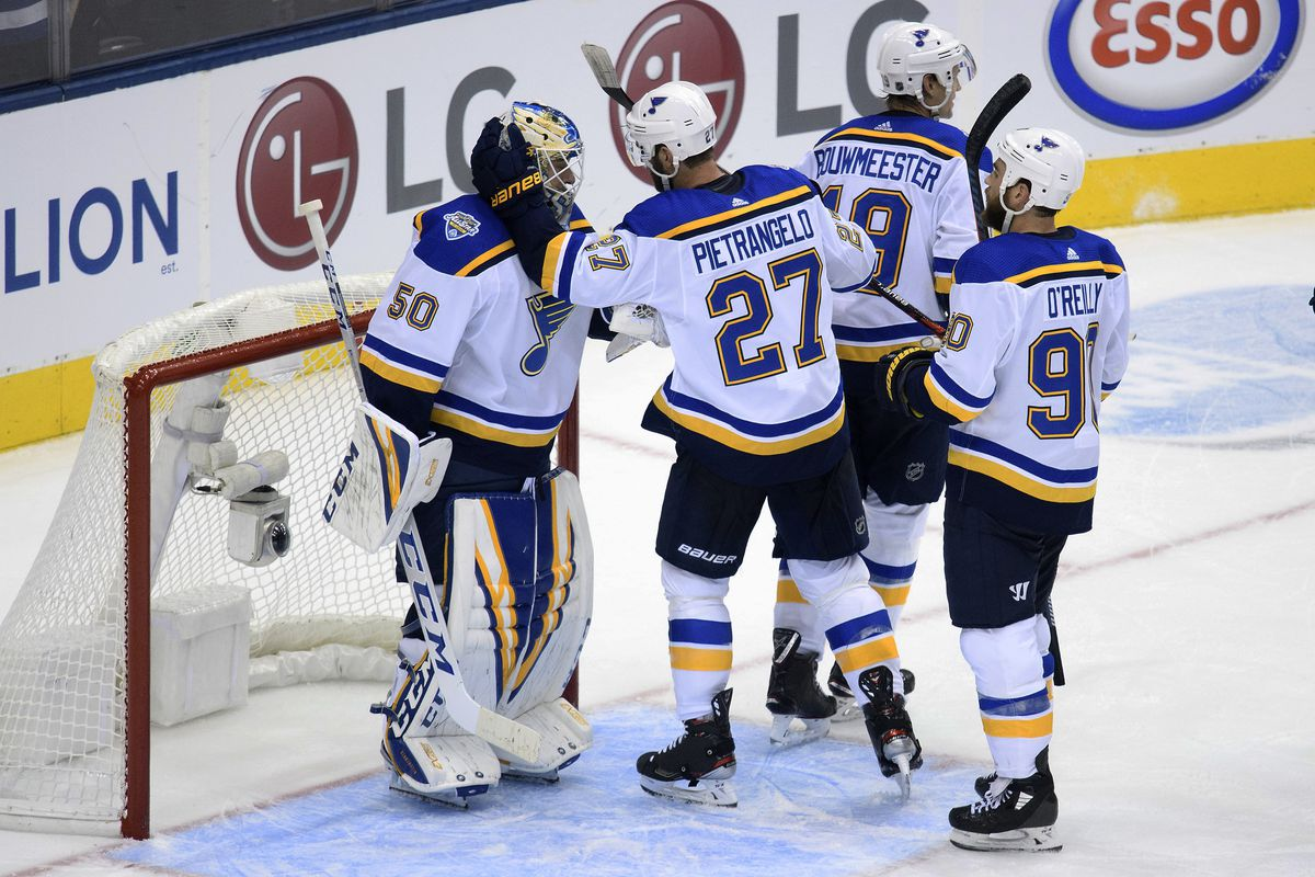 NHL: St. Louis Blues at Toronto Maple Leafs
