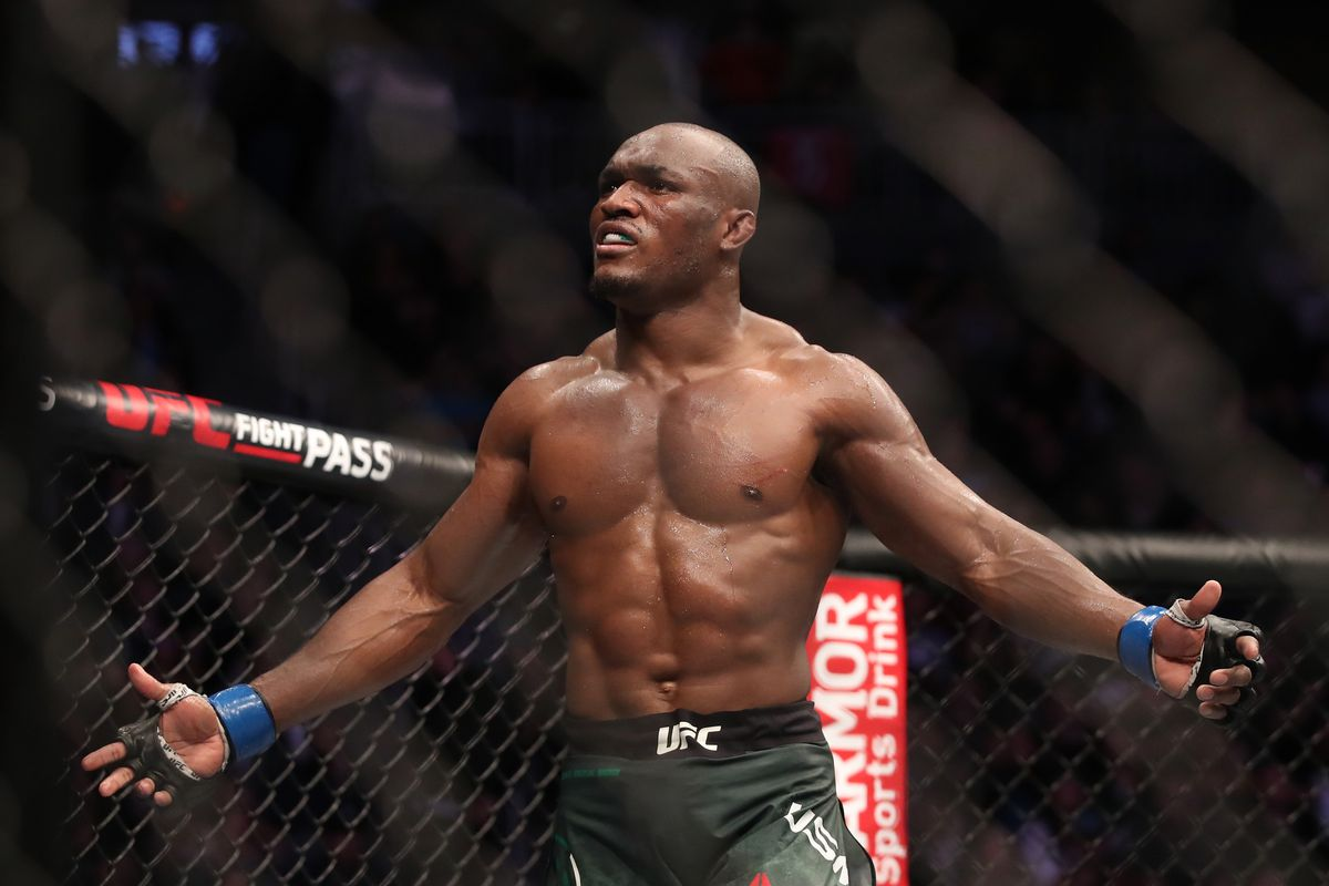 Nigeria's Kamaru Knocks Out Covington, Retains UFC Welterweight Title