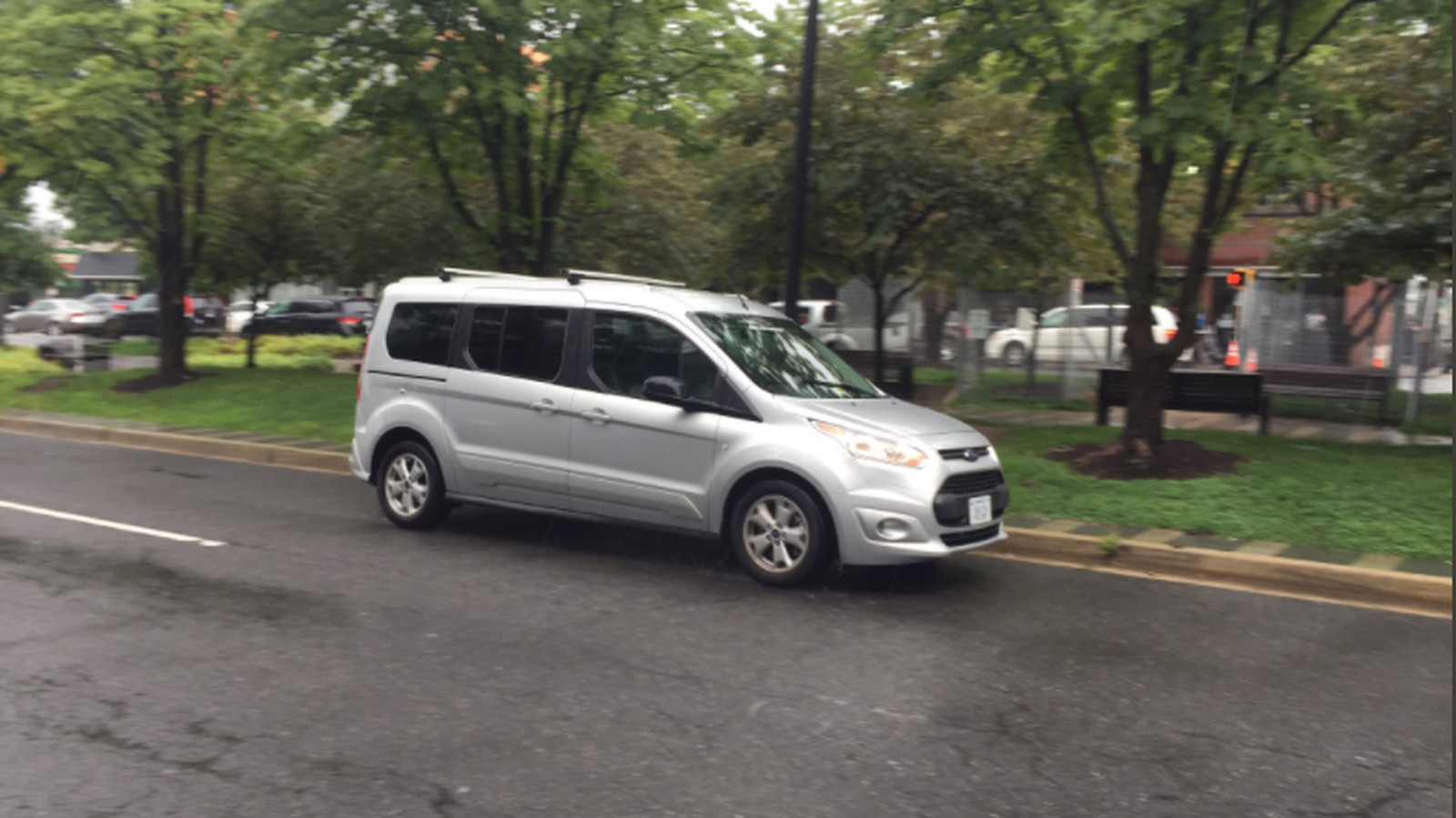 Mysterious 'driverless' van spotted in Virginia had a human driver hidden in the car seat
