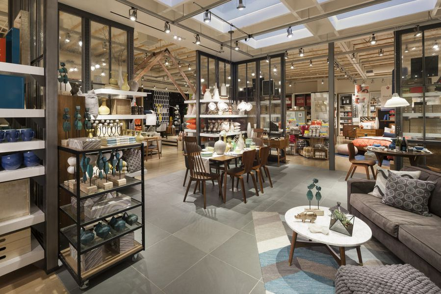 West elm mill valley racked sf for Furniture and design stores