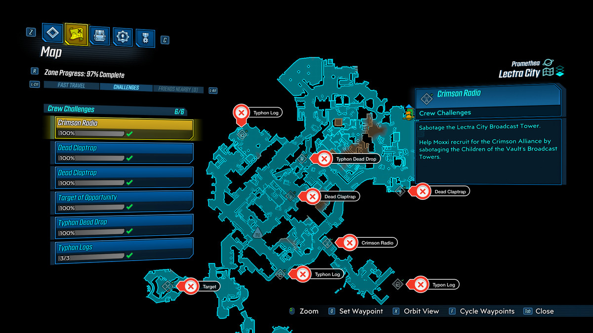 Lectra City Borderlands 3