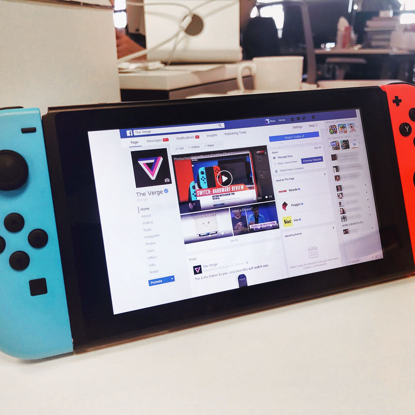 The Nintendo Switch has a secret browser, but you can't use it for