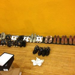 Off-season shoes, $100 each or three for $250