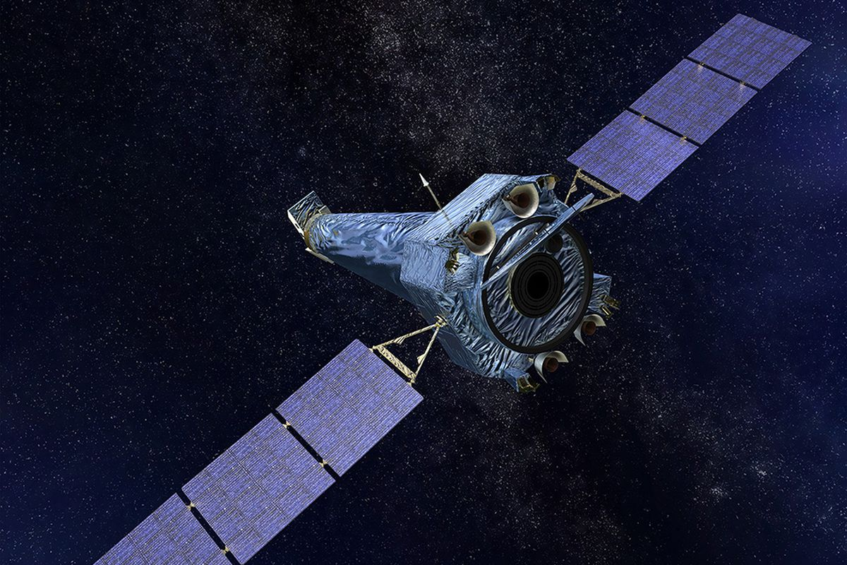 X-ray Telescope Space Nasa's Going Offline Briefly Chandra After