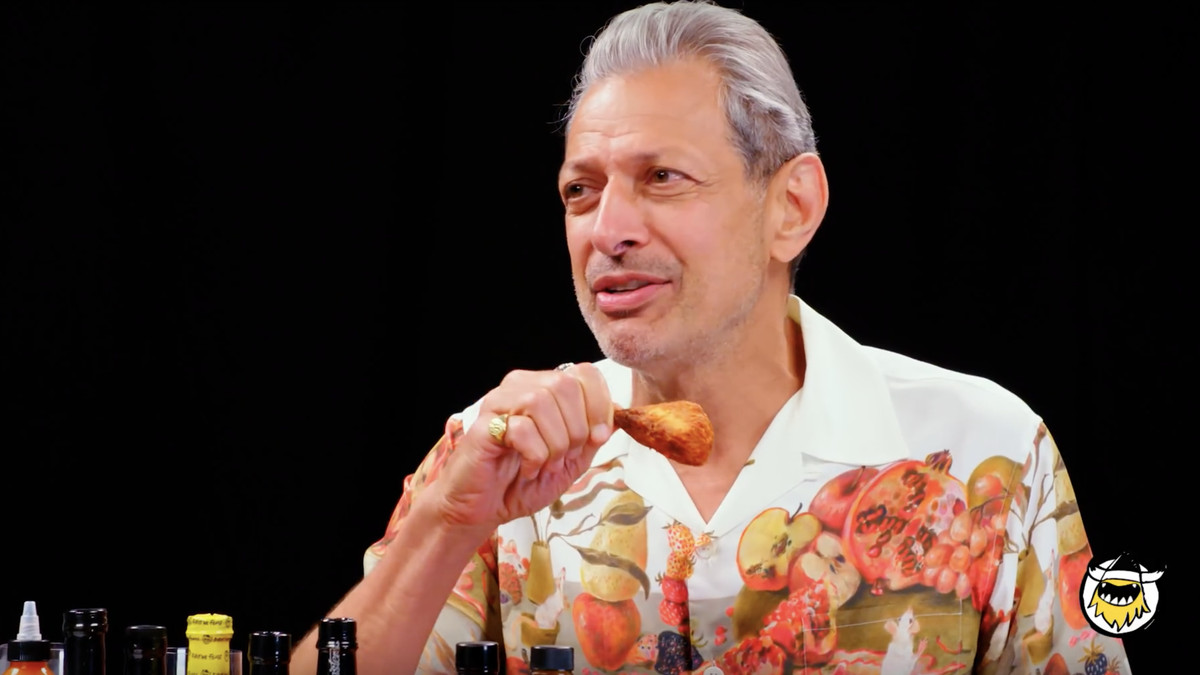 This Video Of Jeff Goldblum Eating Spicy Wings Is The Best Thing You'll See Today