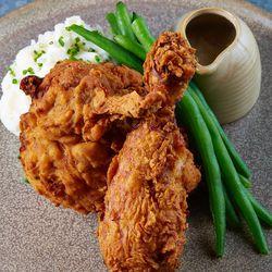 Fried chicken.
