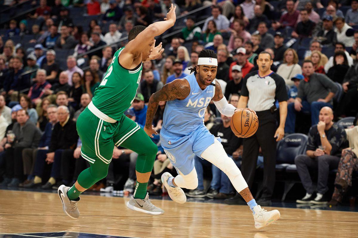 Boston Celtics v Minnesota Timberwolves