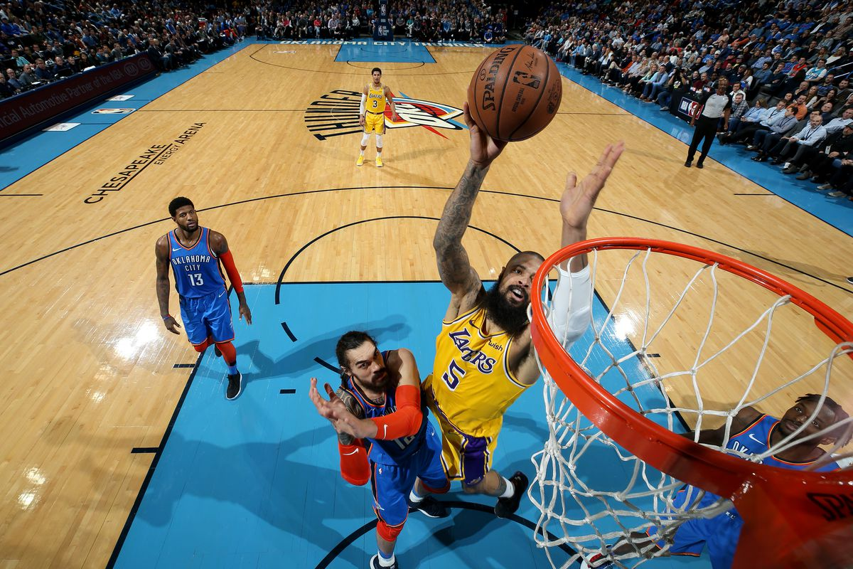 Los Angeles Lakers v. Oklahoma City Thunder