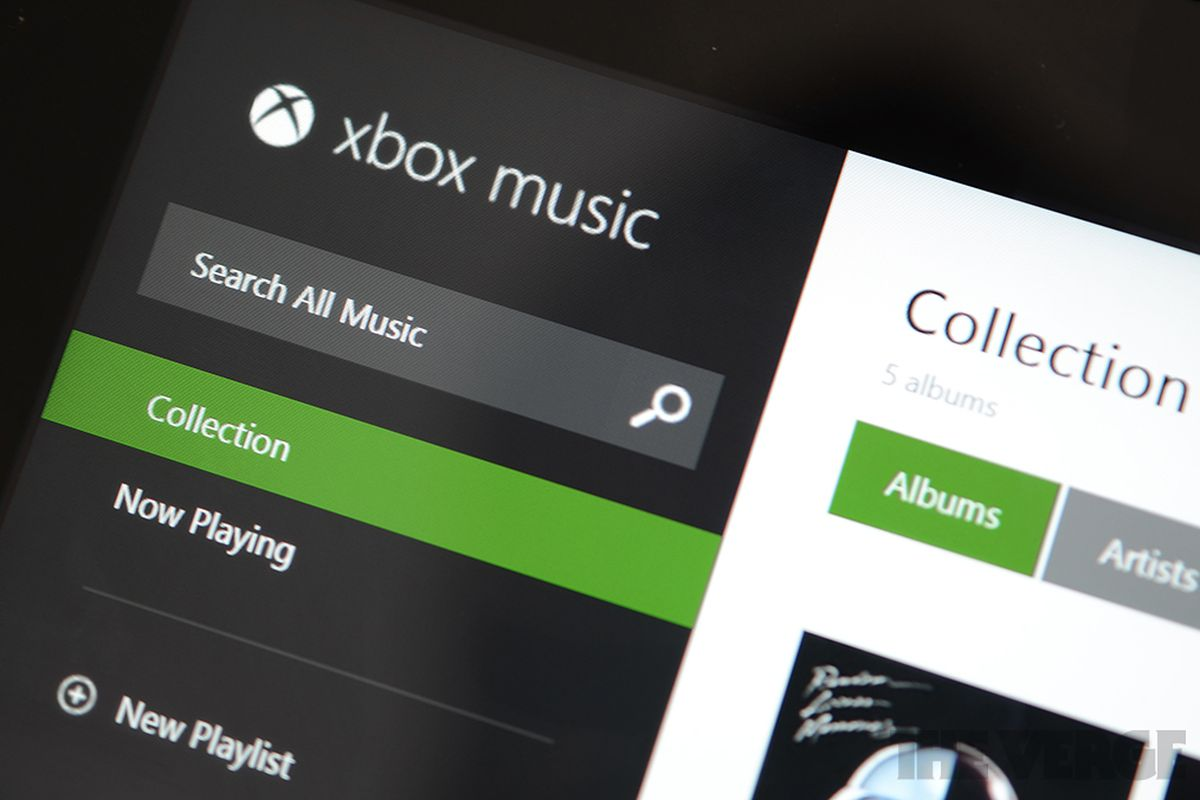 Xbox Music can now play music stored in OneDrive - The Verge