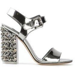 "Studded heel sandal, <a href=""http://www.farfetch.com/shopping/women/dolce-gabbana-studded-heel-sandal-item-10601926.aspx?ffref=pp_recom"">Doce & Gabbana</a>, $1,195.00"