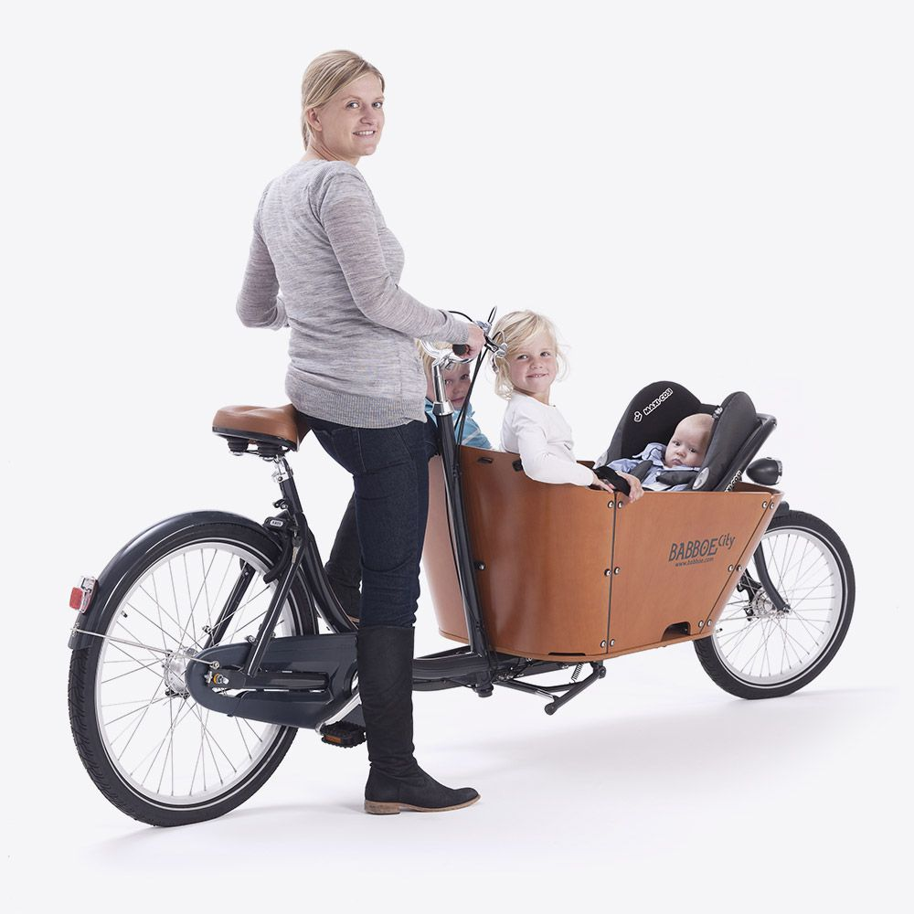 3 Cargo Bikes That Let You Commute With Your Kids Curbed