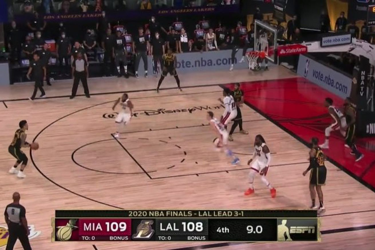 slack imgs.0 - Danny Green missed a wide open three that could have won the Lakers the championship