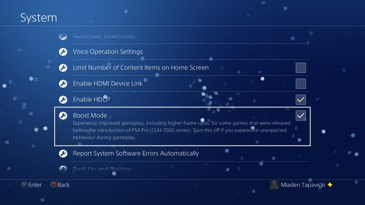 PS4 Pro 'Boost Mode' improves performance on games without