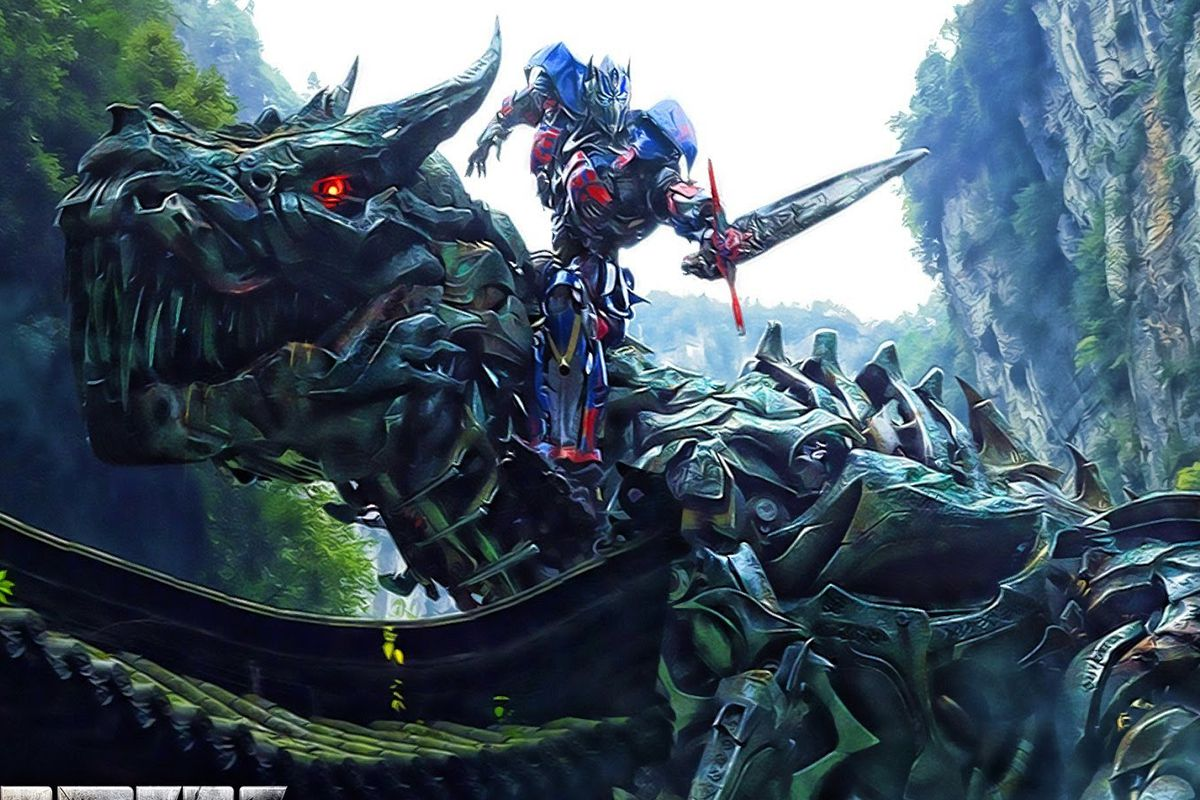 A clip from the Transformers movie