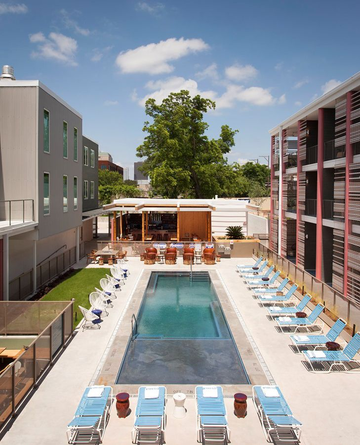Pool at the East Austin Hotel
