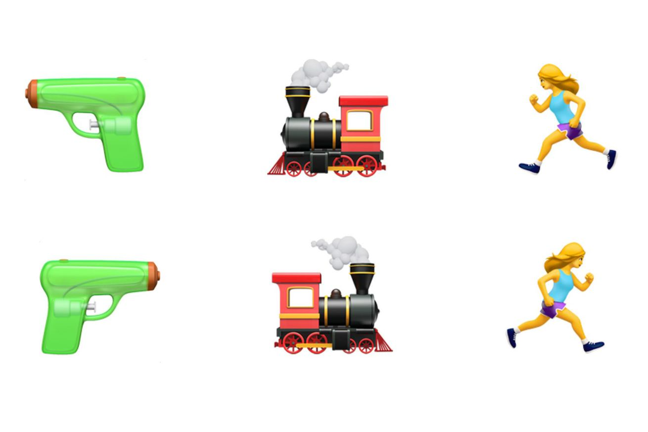 you might be able to flip emoji direction in 2018