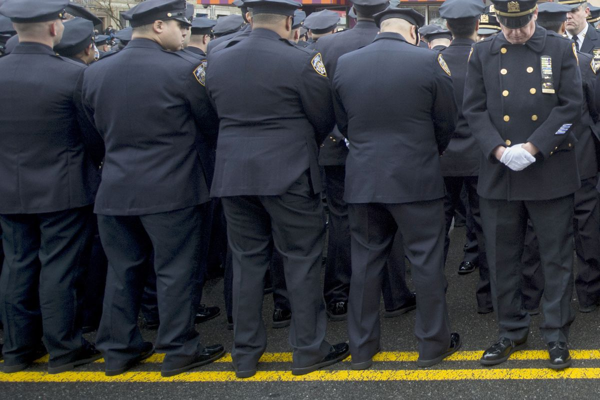 Police are turning their backs on New York's mayor — and on many (mostly minor) crimes.