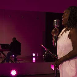 Dee-Dee Darby-Duffin performs at Good Company Theatre in Ogden.