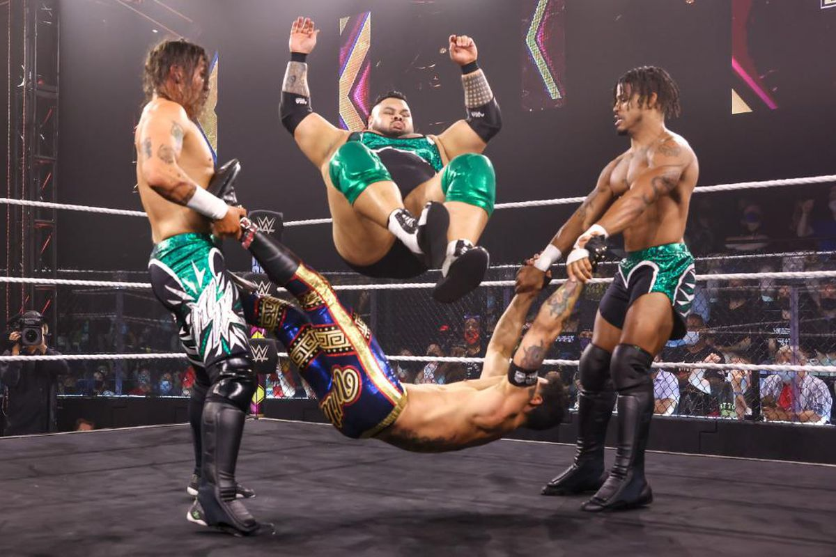 WWE NXT TakeOver: In Your House results - What was 'Match of the Night'? - Cageside Seats