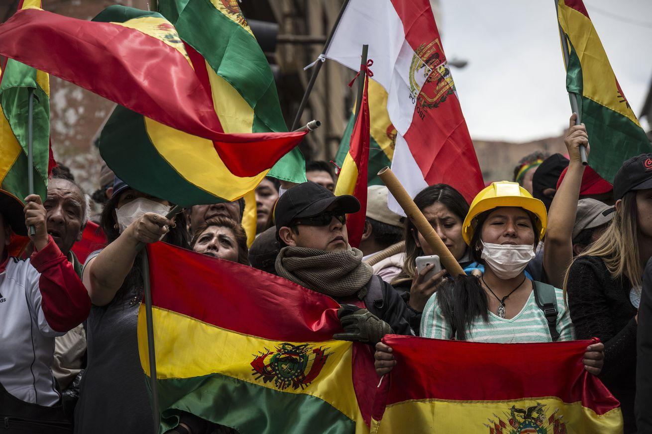 Police Mutiny in Bolivia