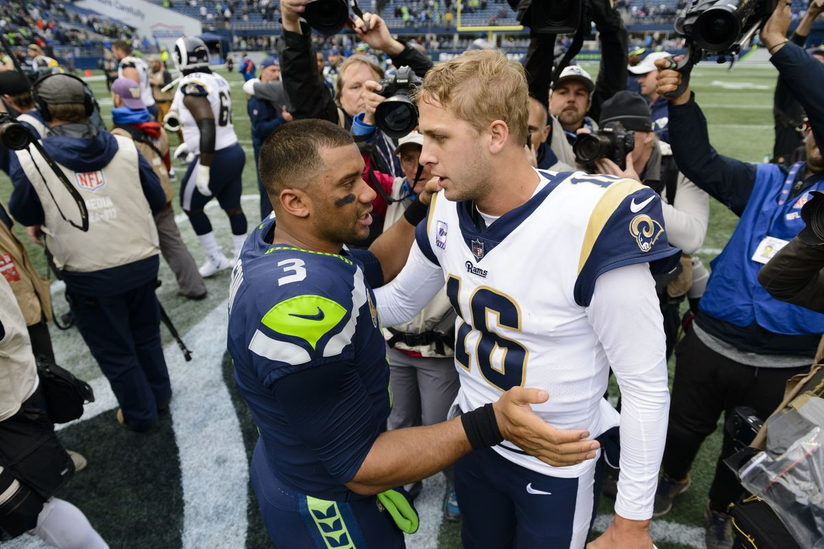 d8b86bf87f8e Seahawks-Rams  This Seattle fan can t stop gushing over Aaron Donald ...