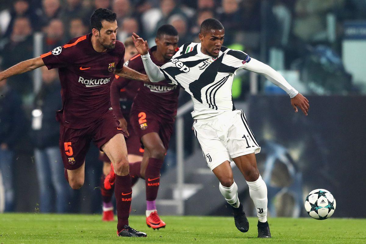 Landmarks Of Turin Awards Juventus Vs Barcelona Edition Black White Read All Over