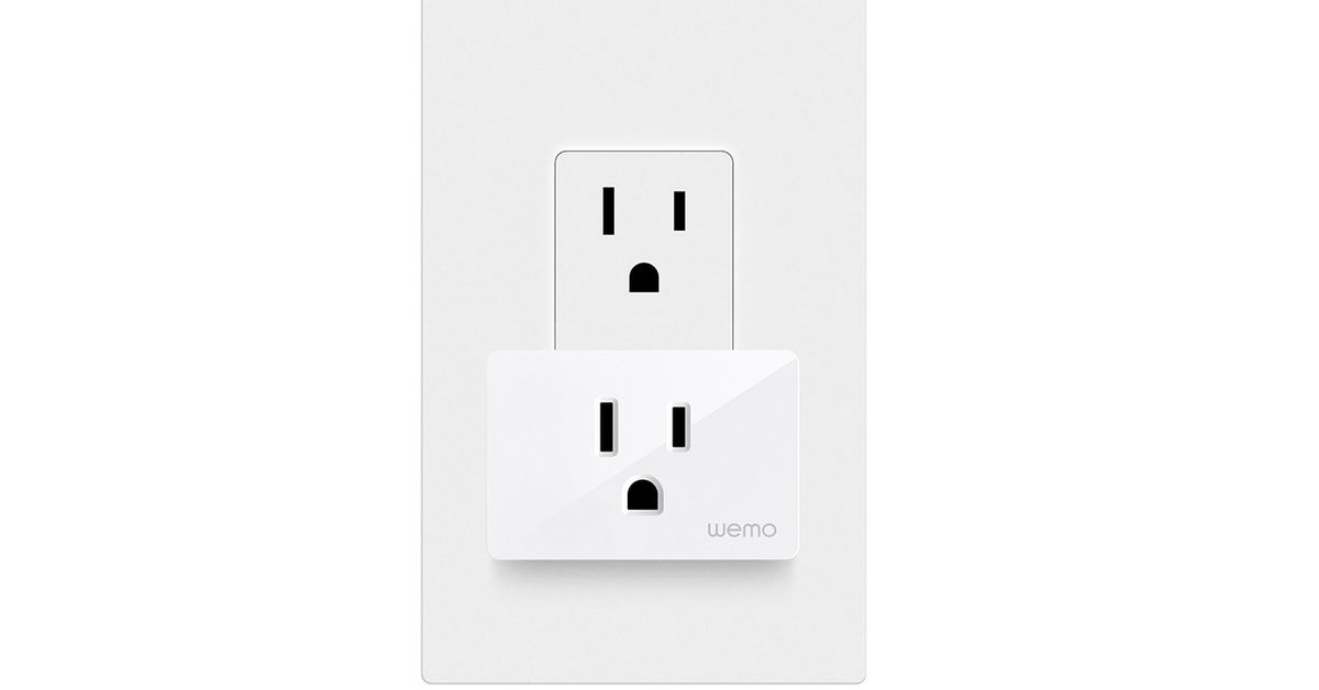 Wemo's new WiFi Smart Plug is smaller cheaper and available now – The Verge