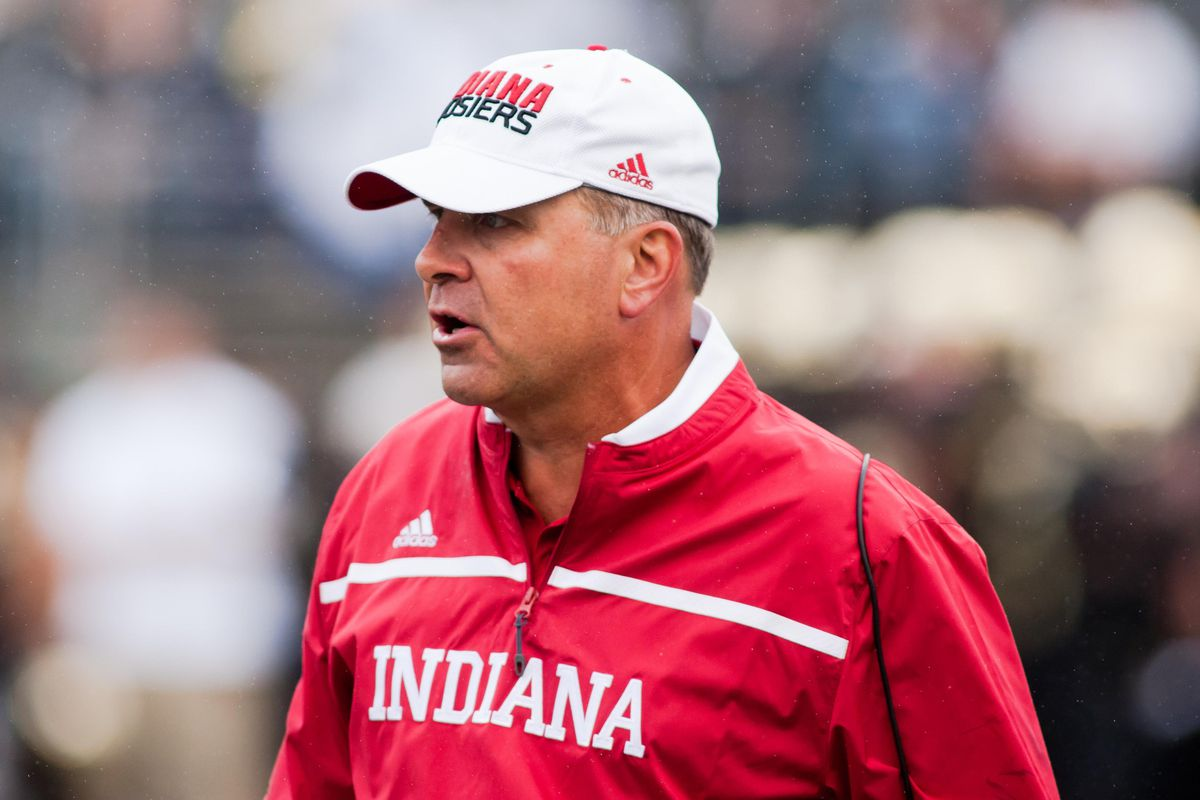 Sorry, Coach, but wearing that jacket is a white collar crime. (Nailed it.)