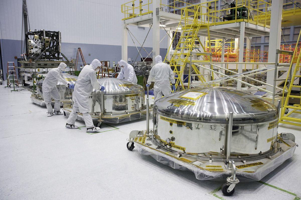 NASA Clean Room