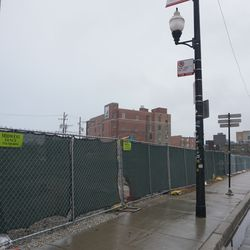 The site of the former Salt & Pepper, Goose Island Brewery, Mullens and Red Ivy, on Clark Street