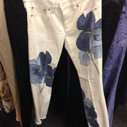 London super-skinny jean in Persica, $60 (was $225)
