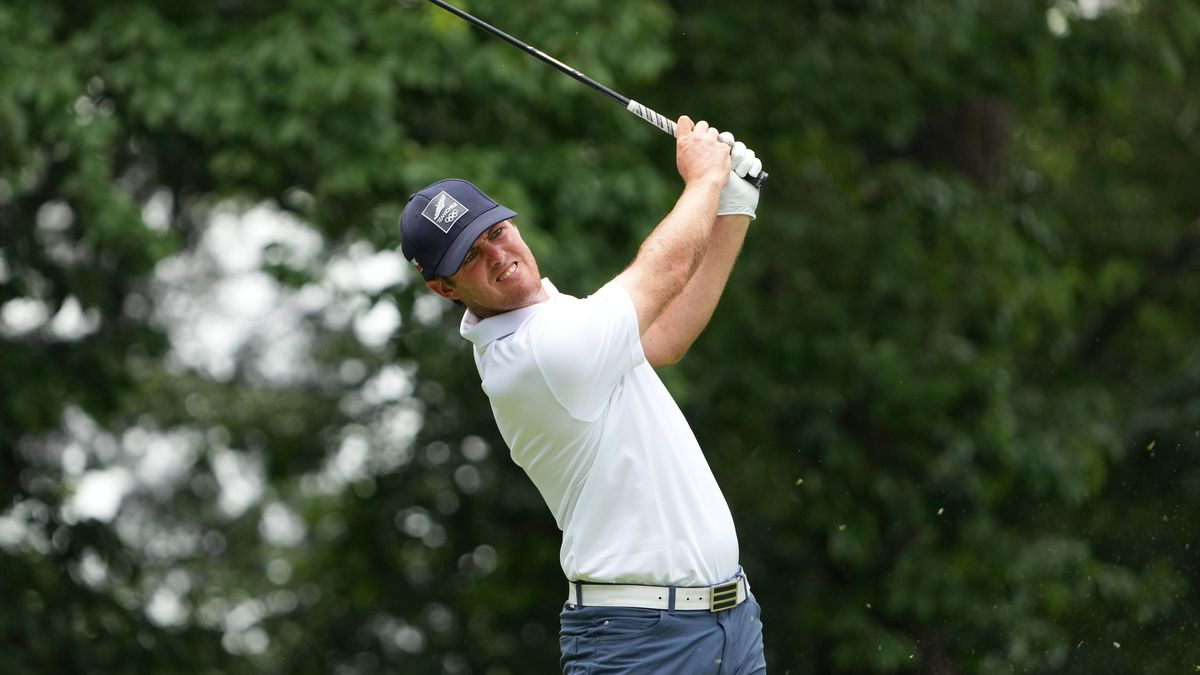 Olympics: Golf-Mens Individual Round 3