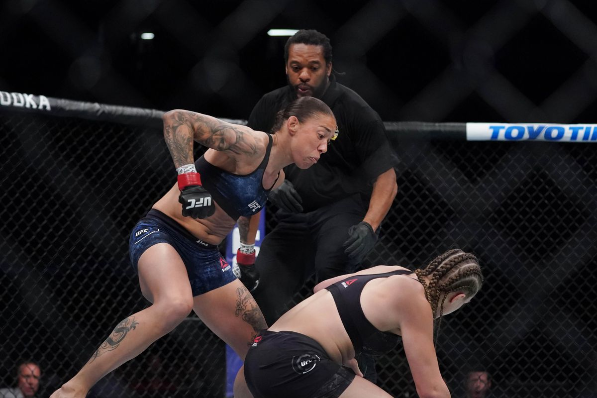 Germaine de Randamie relives 16-second finish of Aspen Ladd: 'Why take more damage?'