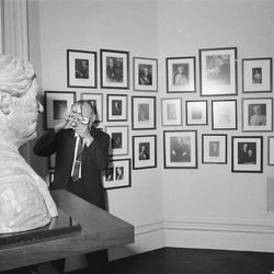 Hull House Museum interior with a bust of Jane Addams. | Sun-Times Archives