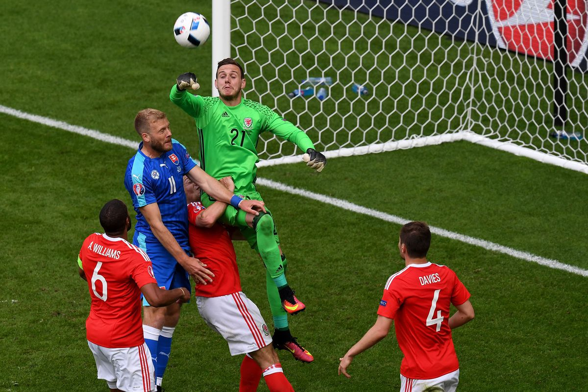 It turns out Wales v Slovakia was NOT a game photographers chose to focus on with great effort.