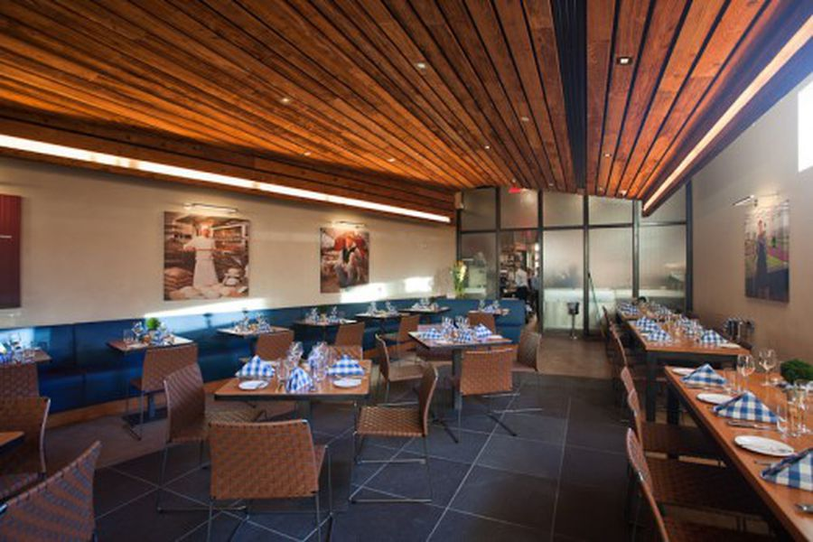 Inside David Burke Kitchen at the James Hotel - Eater NY