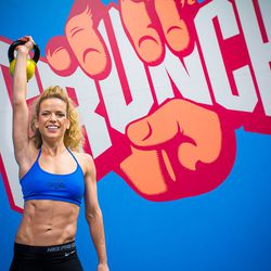 """<a href=""""http://ny.racked.com/archives/2012/08/03/hottest_trainer_contestant_8_anja_koschak.php""""><b>Anja Koschak</b></a> of Crunch Fitness. Photo by <a href=""""http://peladopelado.com/"""">Driely S</a>"""