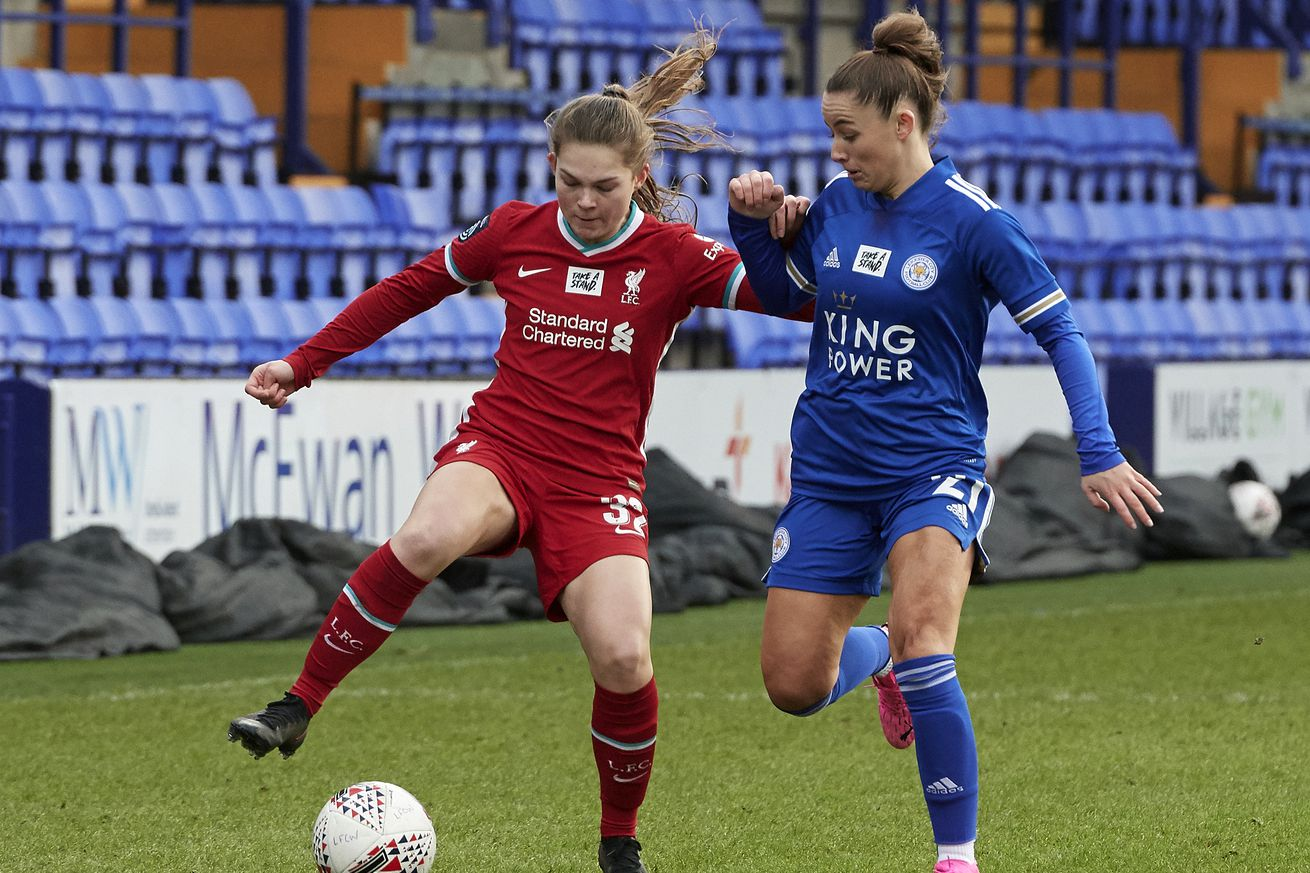 Liverpool v Leicester City - Barclays FA Women's Championship
