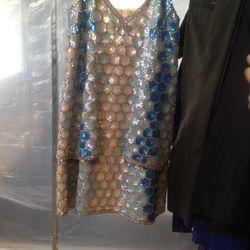Maison Martin Margiela sequined dress: $4,957