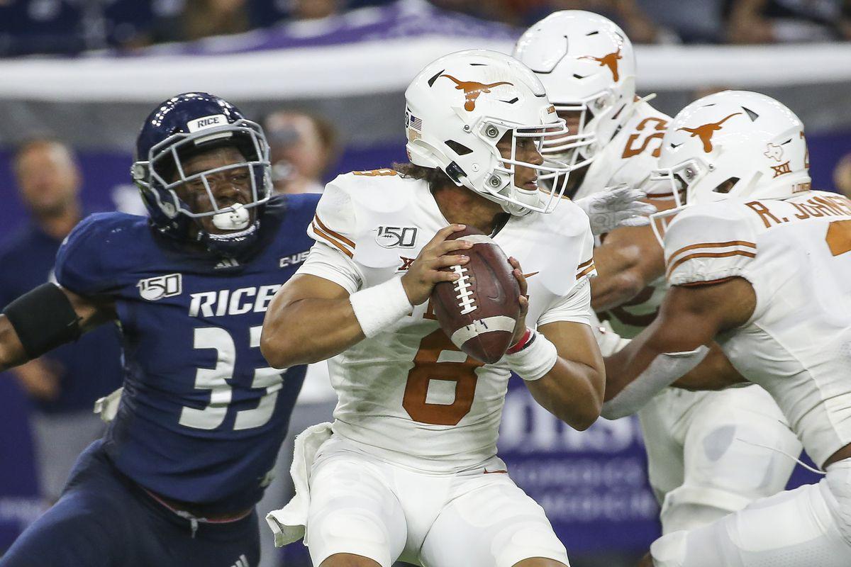 NCAA Football: Texas at Rice