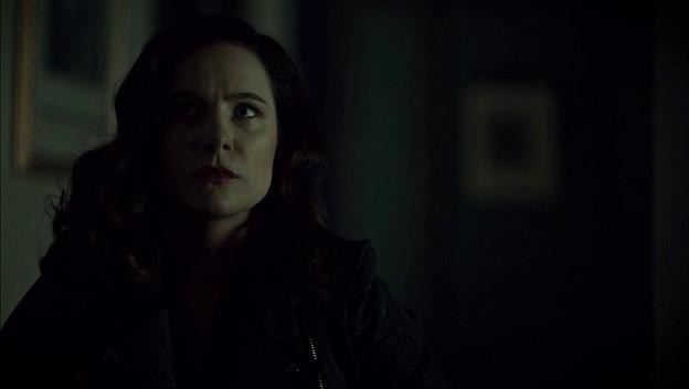 Alana has a half-face on Hannibal.