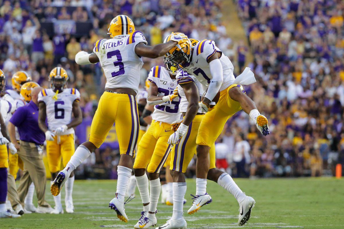 NCAA Football: Georgia Southern at Louisiana State