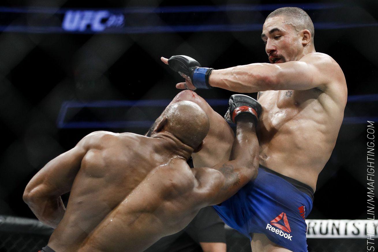 community news, UFC 213 in Tweets: Pros react to Robert Whittaker vs. Yoel Romero, more