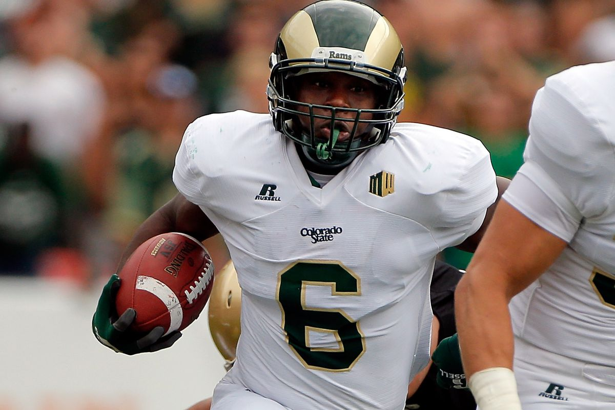 Senior Running Back Chris Nwoke Leads A Potent Colorado State Ground Attack