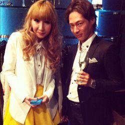 Growze designer Yukiko Kudo and store owner Masaki Kudo (yes, they're married).