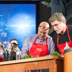 Tom Colicchio and Rick Bayless collaborate.