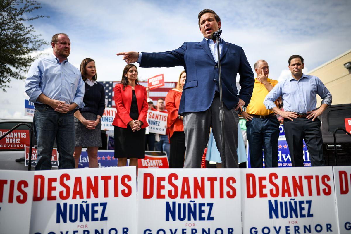 Florida Gubernatorial Candidate Ron DeSantis Campaigns With Sen. Marco Rubio